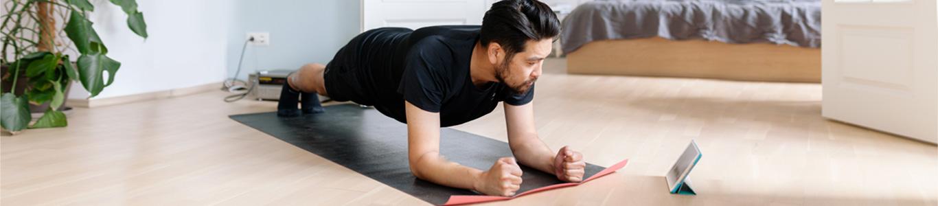 ¿Qué ejercicios hacer en cuarentena total?