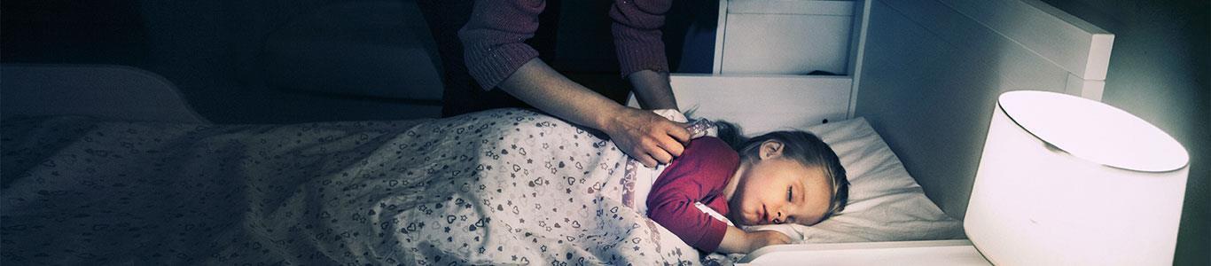 ¿Qué debo hace si mi hijo tiene terrores nocturnos?