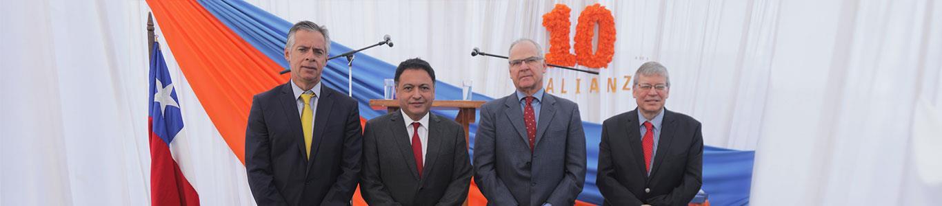 Clínica Alemana y Municipalidad de Licantén conmemoran 10 años de alianza