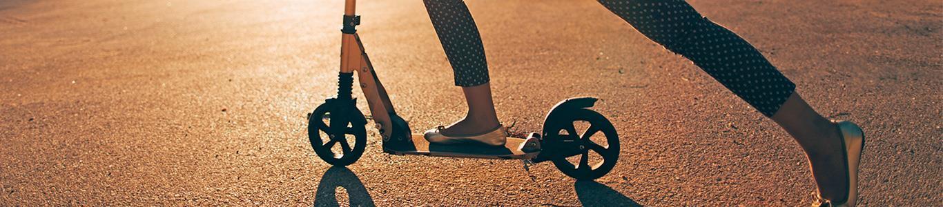 Accidentes asociados a los scooter