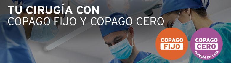 Copago Cero y Copago Fijo en Cirugías