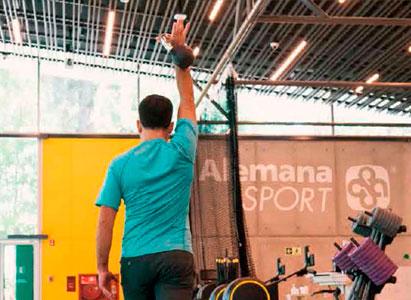 Kinesioterapia en el centro Alemana Sport
