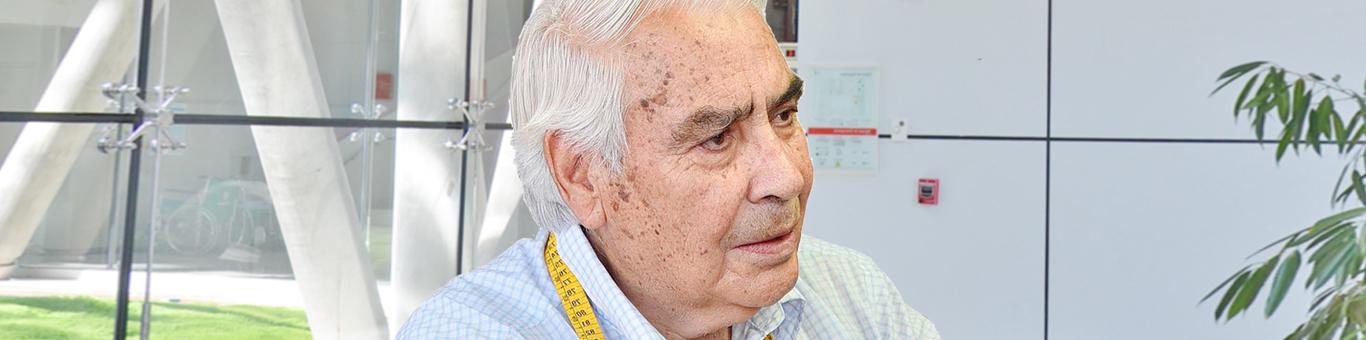 Óscar Álvarez y su exitosa cirugía de cataratas