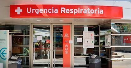 urgencia respiratoria.