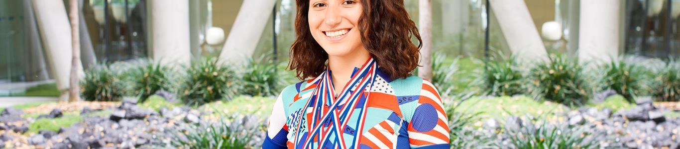 Tras exitosa cirugía, ciclista logró dos medallas de oro en Suramericanos