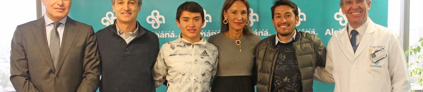 Acuerdo con Corporación Maratón de Santiago en apoyo a atletas destacados