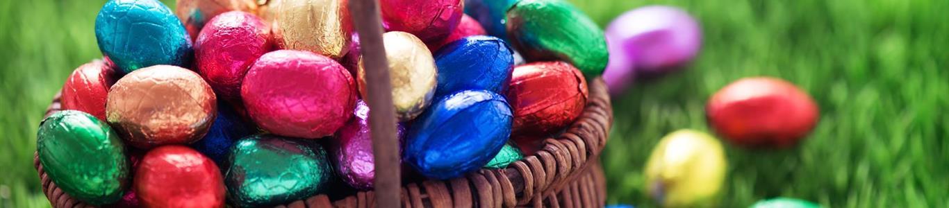 Huevitos de chocolate: ojo con los excesos