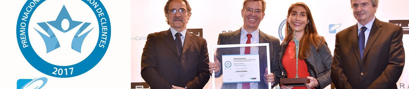 Clínica Alemana: Mejor de los Mejores en Premio ProCalidad 2017