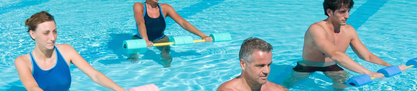 ¡  A  hacer  ejercicio  en  el  agua   !