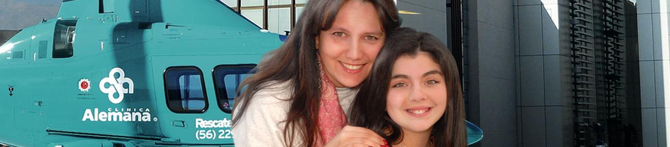 Sara Weinstein y el accidente en esquí que casi le cuesta la vida