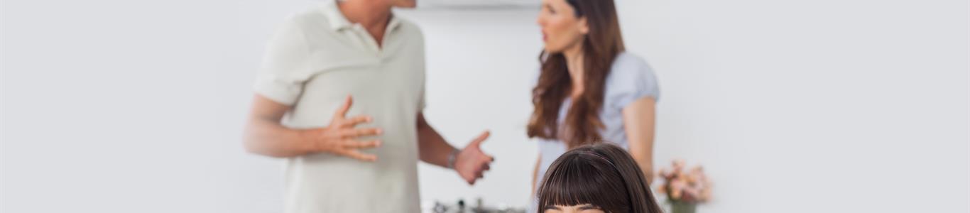 Cómo afectan las discusiones a los hijos