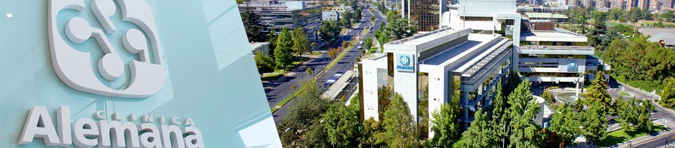 Clínica Alemana es la clínica más valorada por los chilenos