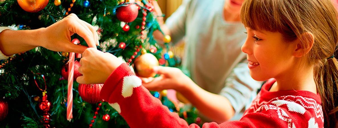 Niños y fiestas de fin de año: celebrar seguros