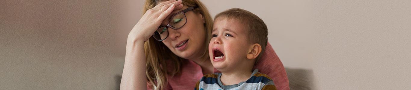 ¿Qué hacer frente a las pataletas de los niños?