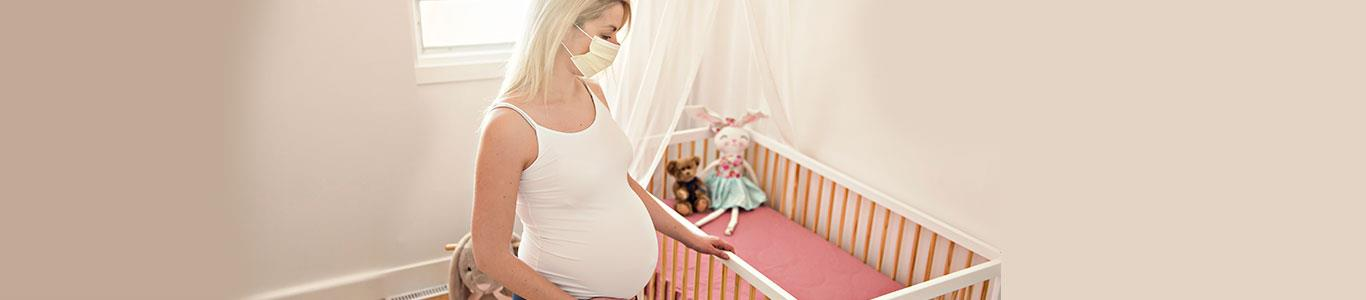 Ser mamá en medio del brote de coronavirus