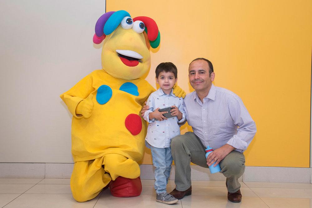 Pacientes Pediatría Clínica Alemana Luciano Zambrano y Felipe Zambrano