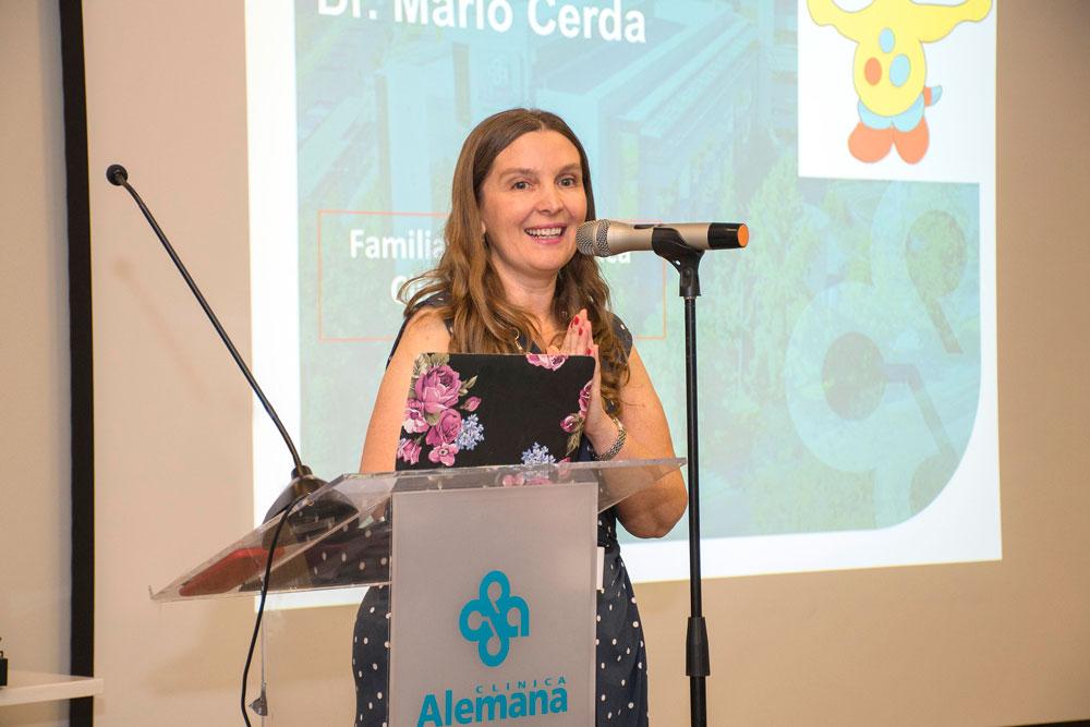 Doctora Pediatría Clínica Alemana Isabel González