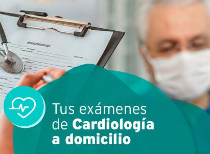 Exámenes de Cardiología a domicilio