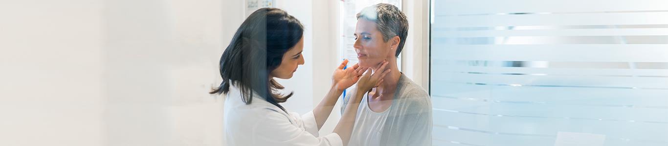 Controles de pacientes con problemas a la tiroides