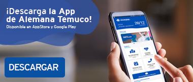 App Clinica Alemana Temuco