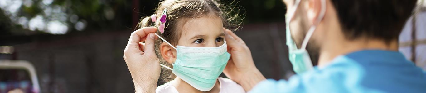 Lo que debes saber del uso correcto de la mascarilla en niños